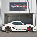 Porsche Cayman R for hire from Sportshire