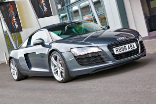 Audi R8 V8 for hire from Sportshire