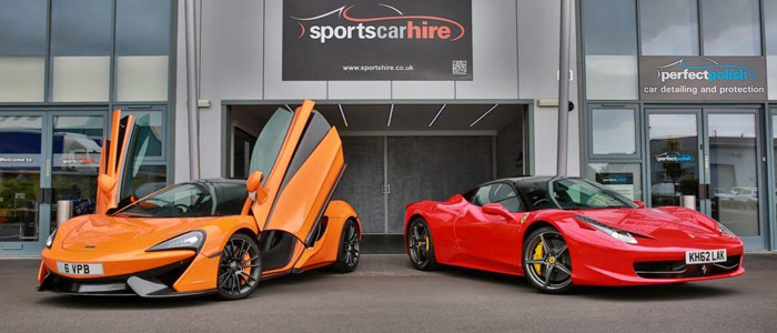 Sports Car Hire West Midlands
